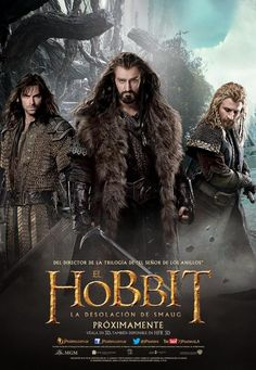 The Hobbit: The Desolation of Smaug -  International Posters - Kili, Thorin, Fili