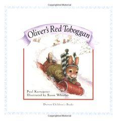 """""""Oliver's Red Toboggan (Holly Pond Hill)"""" by Paul Kortepeter, Susan Wheeler"""