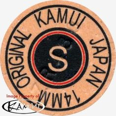 1 Kamui Brown Soft Pool Cue Tip-New Red Ring (Super Soft=SS) Free Shipping #Kamui