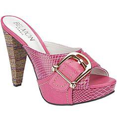 Tamanco Belmon - 395 Pink - 33 ao 43 - Sapatos Femininos, Sandálias, Peep Toes, Calçados em Numeração Especial - Sapato Show