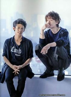 ☆Takeru w Taka- the soundtrack to the Rorouni Kenshin movies was the first time I heard One ok Rock. I love their songs in Japanese and English. One Ok Rock, Takahiro Morita, Takahiro Moriuchi, Boys Republic, Takeru Sato, Anime Music, Japanese Men, Pop Rocks, Look Cool