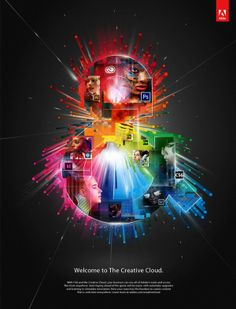 Adobe / Social Analytics by David Mascha, via Behance