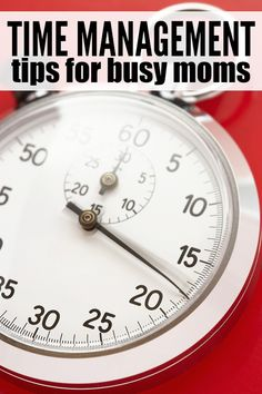 Whether you're a working mom, work-at-home mom, or stay-at-home mom, these 10 simple time management tips are just what you need to restore a little order and organization back into your busy life!