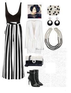 """""""Untitled #980"""" by ericap61720 ❤ liked on Polyvore featuring Only Hearts, Michelle Mason, Off-White, Chanel and Chloé"""