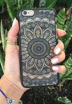 Handyhulle Iphone  Mandala