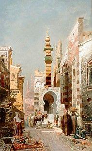Robert Alott - Oriental scene