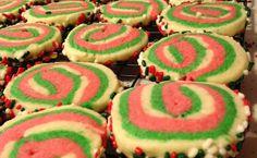 Christmas Roll Sugar Cookies