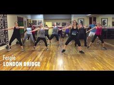 """London Bridge"" - Fergie - Dance Fitness Choreography - YouTube"