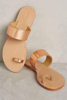 9b8e6578050 Mystique Toe-Loop Slides Toe Loop Sandals