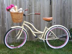 old fashioned bikes with baskets - Google Search