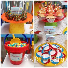 First Birthday Beach Party Has Some Amazing Decorating And Food Ideas See All The