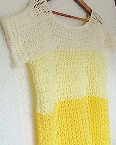 Crochet Patterns Jumper Crochet Simple jumper (pattern) by Sam Piper Crochet Jumper, Crochet Yarn, Easy Crochet, Free Crochet, Crochet Sweaters, Jumper Patterns, Crochet Patterns, Crochet Summer Tops, Crochet Tops