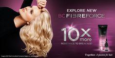 BC Fibre Force Hajkötés erősítő-építő szolgáltatás (step by step) Schwarzkopf Professional, Bond, Fiber, Passion, Hair, Low Fiber Foods, Strengthen Hair