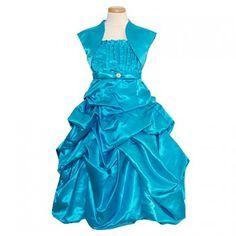 Blue dress 2t rain