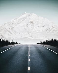 The road to the mountain - Mount Drum, Alaska. Photo by Benjamin Everett Alaska Travel Destinations Honeymoon Backpack Backpacking Vacation Oh The Places You'll Go, Places To Visit, Alaska Travel, Alaska Trip, Anchorage Alaska, Landscape Photos, Landscape Photography, Belle Photo, The Great Outdoors