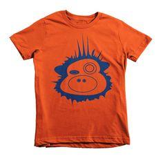 Bluesie Blue Funky Munky - Short sleeve kids t-shirt