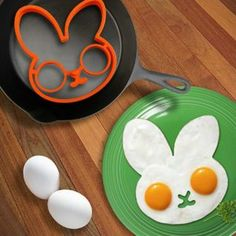 Rabbit egg fried frying mold egg mould shaper eggs ring kitchen cooking tool _D Cooking Gadgets, Cooking Utensils, Cooking Tools, Cooking Classes, Cooking Videos, Best Cooking Pots, Cooking With Kids, Fun Cooking, Country Cooking