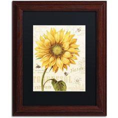 Trademark Fine Art Under the Sun I Canvas Art by Lisa Audit, Black Matte, Wood Frame, Size: 11 x 14, Multicolor
