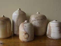 I have been smitten with the pottery of Canadian artist Emily Jull  ever since spotting her vintage doily porcelain jars  on Etsy. One of ...