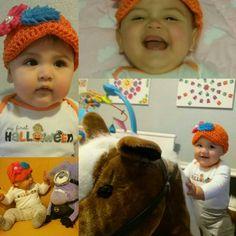 Happy Halloween friends  :) Feliz Día de Brujas :) #ColleenCoco #cocofirsthalloween #myfirsthalloween #babyfashion #happybaby #LifeAsLeo  #prouddaddies