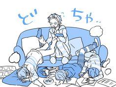埋め込み画像 Alice Anime, Stars At Night, Ensemble Stars, Funny Cute, Boy Or Girl, Anime Art, Twitter, Game, Venison