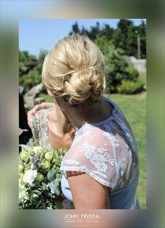 A textured chignon for the Bridesmaids #BridalHair #WeddingHair #WeddingStyle #Bridesmaids #bridalstyle #weddinginspiration #weddinghairinspiration #bridalbeauty #weddinghairtips #bridesmaidinspiration #bridesmaidhair #bridesmaidstyle #bridesmaid #bridesmaidhairtips