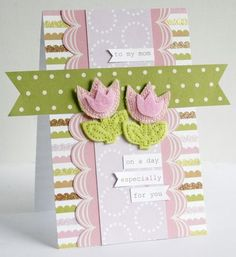 Gretchen McElveen, KI Memories, Mother's day card - April challenge