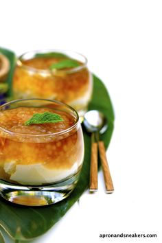 Taho: Soft Tofu, Vanilla Syrup & Tapioca in a Glass | Apron and Sneakers