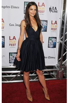 Katie Holmes in Contrarian dress at the Don't Be Afraid of the Dark premiere 2011