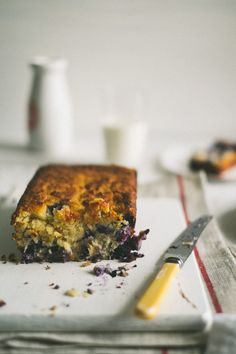Blueberry Coconut Buttermilk Bread