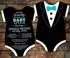 baby shower boy invitations bow ties - Google Search