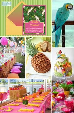 183 best tropical theme parties images on pinterest tropical party