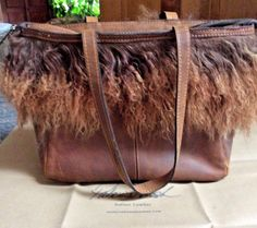04a8c6fb9e PATRICIA NASH Cognac Brown Satchel Tote Tibetan Curly Lamb Handbag with  Dustbag  fashion  clothing  shoes  accessories  womensbagshandbags (ebay  link)