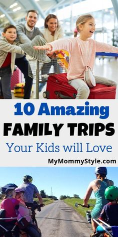 Need some travel ideas for your family? Make some memories on these ten worldwide family trips your kids will love. #familytrips #travelingwithkids via @mymommystyle Family Trips, Family Travel, Adventurous Things To Do, Mommy Style, West Midlands, Style Blog, Popular Pins, Parenting Advice, Rafting