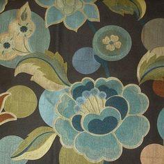 Fabric on Grandma's chair