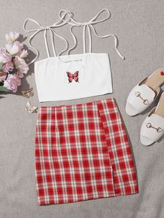 Really Cute Outfits, Cute Lazy Outfits, Trendy Summer Outfits, Simple Outfits, Stylish Outfits, Girls Fashion Clothes, Teen Fashion Outfits, Retro Outfits, Girly Outfits