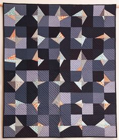 What I had by Kim Andersson, quilted by Terri Carpenter. 2015 Stitch Modern exhibit. Photo by The Plaid Portico.