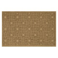 Have to have it. Bungalow Flooring Water Guard Stained Glass Indoor / Outdoor Mat - $34.99 @hayneedle.com