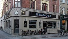 Granola Café – A Local Gem in Copenhagen. I ate here three times; two lunches, one breakfast. SO good!