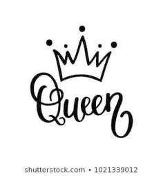 Queen crown vector calligraphy design funny poster Corona (Corona) virus is a large number of Queen Drawing, Crown Drawing, Crown Art, Queen Wallpaper Crown, Queens Wallpaper, Images Noêl Vintages, Crown Images, Queen Images, Crown Tattoo Design