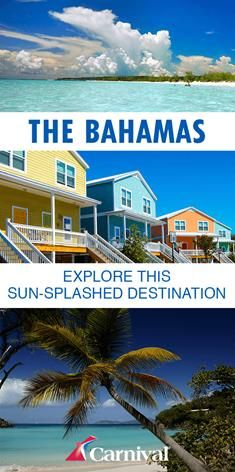 On these sun-splashed islands dotting the blue Atlantic, the living's easy. Visit Carnival.com to start planning your cruise to the Bahamas today.