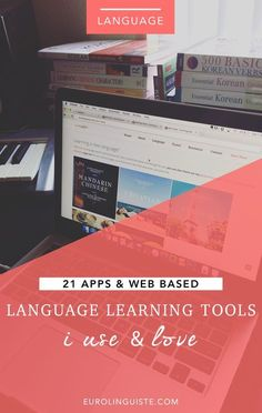 I'm often asked which language learning applications I use regularly and so I thought I'd put together a post where I share 19 of my favorite web based language learning tools. As I've mentioned before, I only like to use resources at any given time f Portuguese Lessons, Learn Portuguese, Learn Russian, Learn German, Learn French, Portuguese Brazil, Foreign Language Teaching, Language Study, Classroom Language