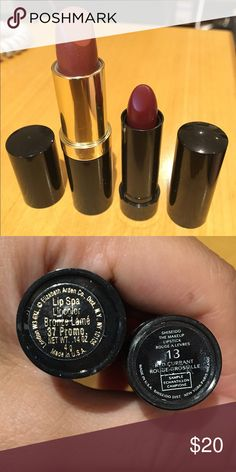 🔴Lipstick bundle BRAND NEW! (Swatches once) Elizabeth Arden and Shiseido lipstick. One full size, one is sample size. Dior Makeup Lipstick