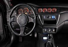 mitsubishi lancer evolution xi dashboard interior