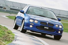 """The MG ZR is an MG-branded """"hot hatch"""" version of the Rover 25 supermini-class car Used Engines, Ford Explorer, Toyota Camry, Ford Ranger, Honda Civic, Hot"""