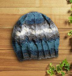 Winter knitting hat handmade beanie hat blue hat christmas gif by legendida