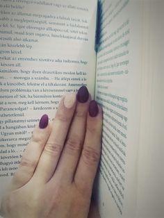 #nails #burgundy