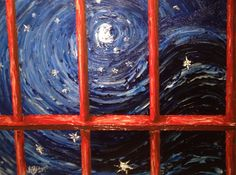 """Starry Night Behind Bars"" by Kenny Bridges"