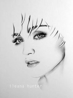 My favourite madonna - art follow me for more celebes art.