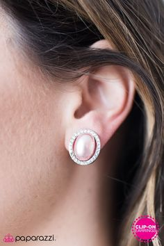 Picture of Top Class Shimmer - Pink Clip-On